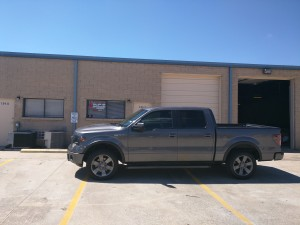 Steven's 2013 Ford F-150 Supercrew FX4 Side Profile
