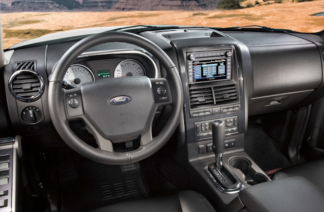 ford explorer sport trac interior ford   blog