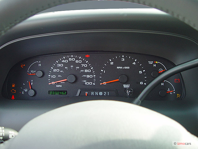 2000 Ford Ranger Xlt >> 2003 Ford Excursion XLT Instrument Cluster 002 | Ford F-150 Blog