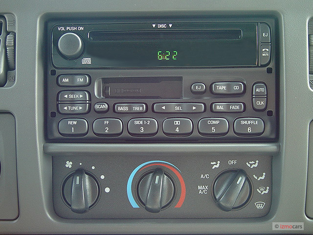 Ford Excursion Mpg >> 2003 Ford Excursion XLT radio and climate controls | Ford F-150 Blog