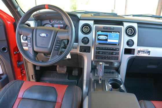 2013 Shelby Raptor Interior Ford F 150 Blog