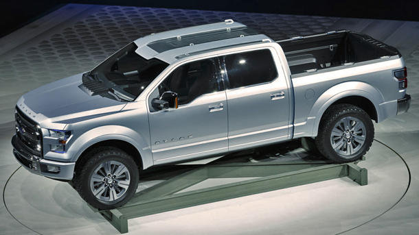 2017 Ford Atlas Concept At Auto Show