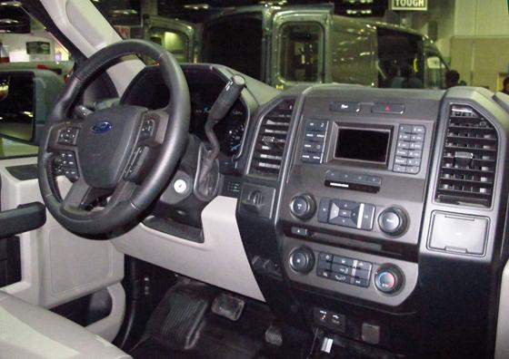 2015 F-150 XL Interior | Ford F-150 Blog
