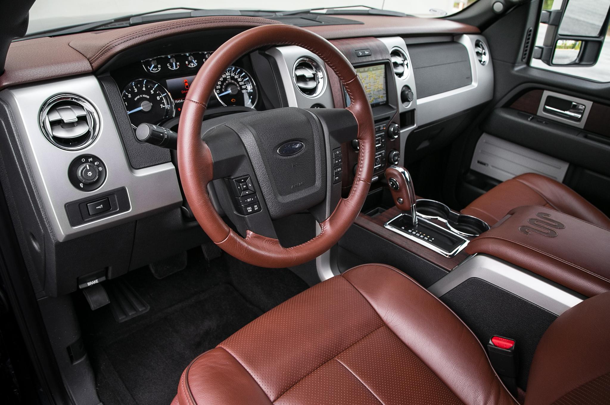 F 150 King Ranch Dashboard Ford F 150 Blog