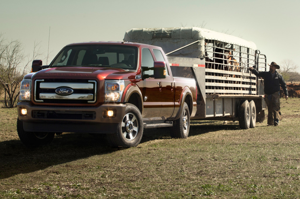2015 Ford F-250 Super Duty Towing Horse Trailer | Ford F ...