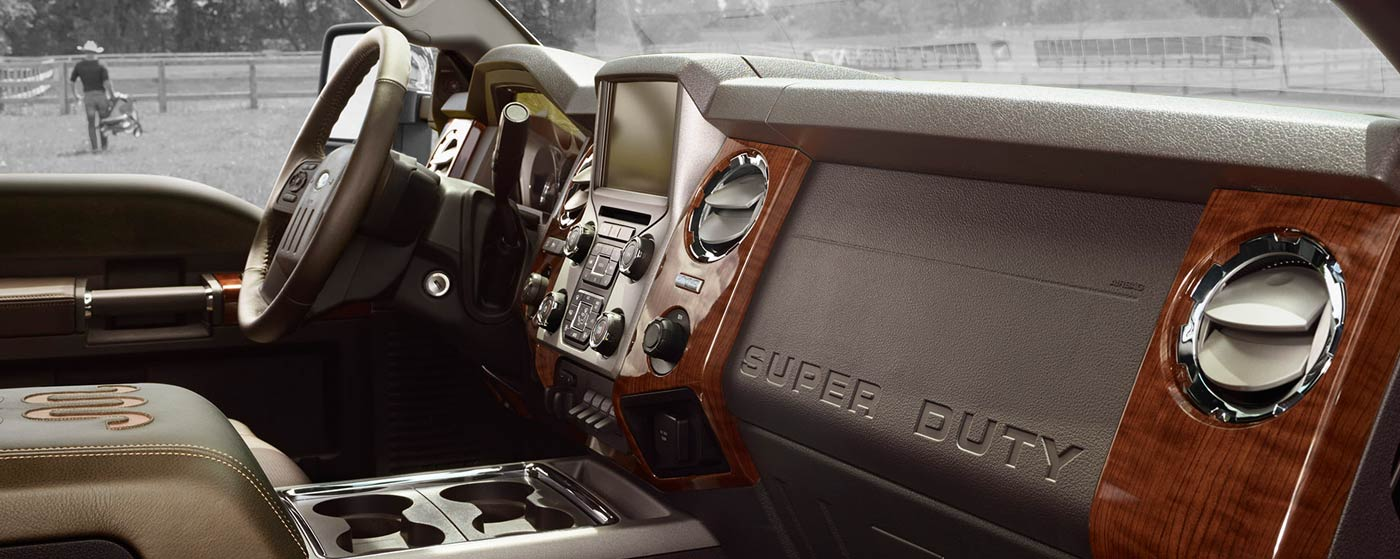 2015 Ford F 350 King Ranch Interior