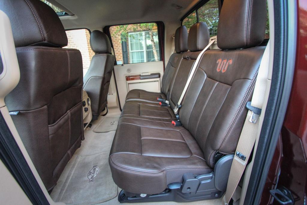 ford  series super duty crew cab king ranch edition interior ford   blog