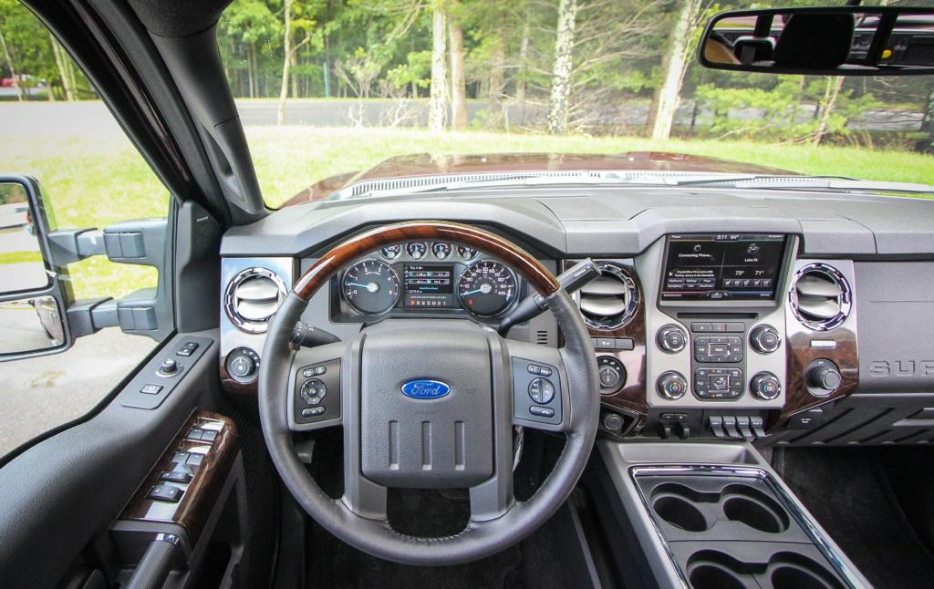 2015 Ford Super Duty Interior | Ford F-150 Blog