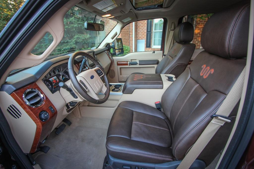 2015 King Ranch Super Duty Interior Ford F 150 Blog