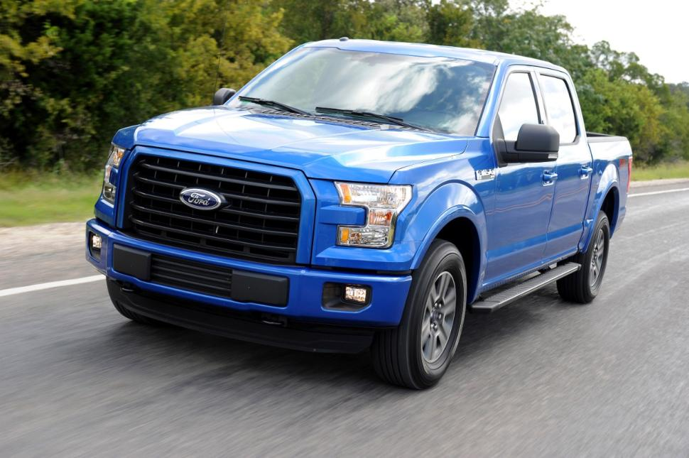2015 Ford F 150 Blue Crew Cab On Road Ford F 150 Blog