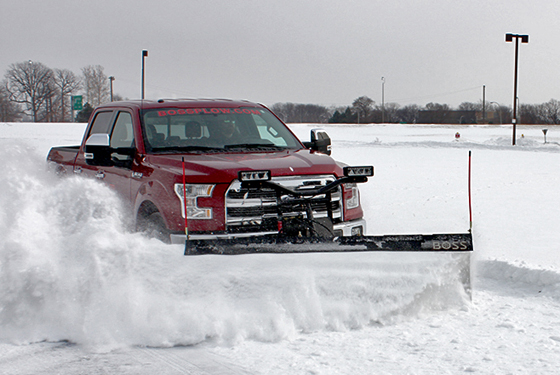 2015 Ford F-150 equipped with Boss 7.5ft Snow Plow | Ford ...