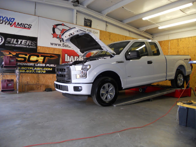 2017 Ford F 150 With 2 7 Ecoboost On Dyno At 5 Star Tuning