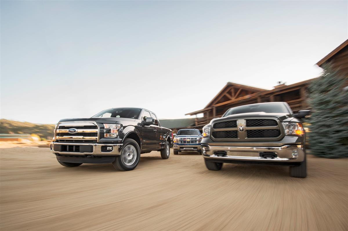 2015 Ford F-150 2 7 EcoBoost and 2015 Ram 1500 EcoDiesel